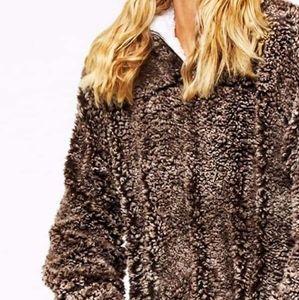 Tops - JENNY Softest pullover - MOCHA BROWN